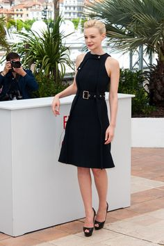 Carey Mulligan attends  'Inside Llewyn Davis' photocall at the 66th Cannes Film Festival, in Cannes, France.