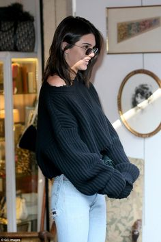 Kendall Jenner steps out in Paris with rumoured beau A$AP Rocky #dailymail