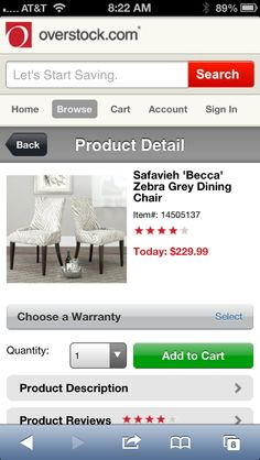 Safavieh chairs for family room by fireplace on overstock.com