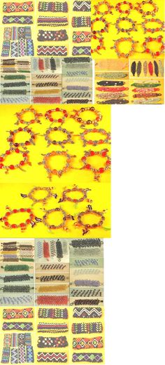 Mixed Lots 64503: 200 Pcs Beads Bracelets Rice Beads,Charm,Color Bead Wholesale Mixed Lot BUY IT NOW ONLY: $100.0