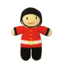 Crochet London Beefeater Guard Soft Toy £21