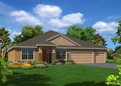 Lake Cove Point Oxford Elevation A in Winter Garden FL