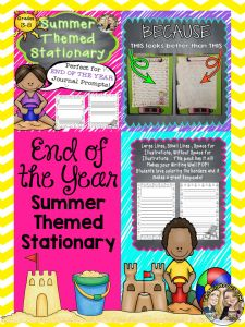 End of the Year Stationary