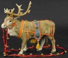 Antique Christmas, Christmas Deer, Christmas Items, Christmas Tree Ornaments, Christmas Candy, Santa And His Reindeer, Patriotic Decorations, Christmas Decorations, Christian Christmas