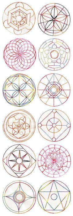 Mandala Quilt Blocks Set 2