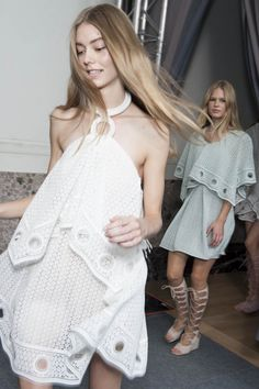 Backstage Pass: Paris Fashion Week Spring 2015 - Backstage at Chloé Spring 2015