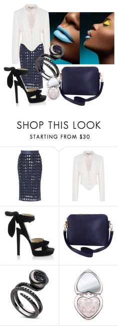 """""""Simply divine"""" by sofiacalo ❤ liked on Polyvore featuring PA5H, STELLA McCARTNEY, Jimmy Choo, Humble Chic and Too Faced Cosmetics"""