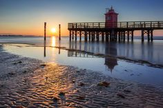 Lighthouse at Faro Rosso - Morning at the beach . National Geographic Photos, Your Shot, Landscape Photos, Amazing Photography, Lighthouse, My Photos, Shots, Community, Explore