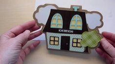 New Home Card with Cricut Wild Card 2 plus great gypsy tips!