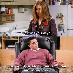 How was your day? #Joey #FRIENDS