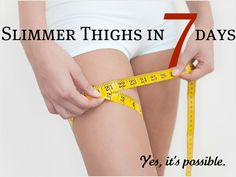 Thigh Workouts...why not. 7 days to skinny jeans...says lauren conrad.