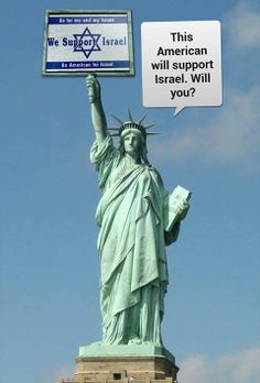 As an American citizen and in standing with our allies, I stand with Israel!