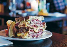 The Broadsheet Cookbook: Five Points Deli's Reuben Sandwich - Food & Drink - Broadsheet Melbourne