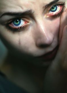 64 Ideas Eye Crying Photography Girls For 2019 Emotional Photography, Dark Photography, Portrait Photography, Female Reference, Reference Images, Art Reference, Sad Eyes, Cool Eyes, Teary Eyes