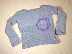 Cómo tejer un jersey / suéter / pullover con un telar circular (Tutorial...