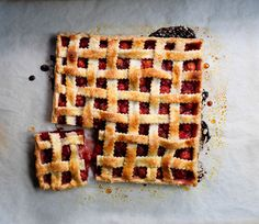 A square pie! Photography: Rob Fiocca