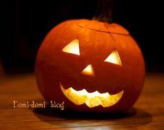 Tutoriel Comment creuser une citrouille d'Halloween? sur Demi-demi blog
