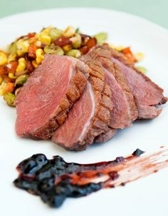 Lucky Duck with Succotash