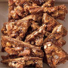 Salted Caramel-Pecan Bars