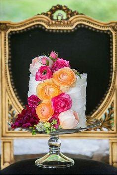 Wedding Cake; via Everything that Sparkles