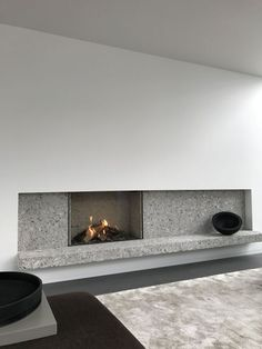 Awesome Contemporary Fireplace Design Ideas 33