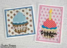 Kristins lille blogg: Cupcake-bursdag