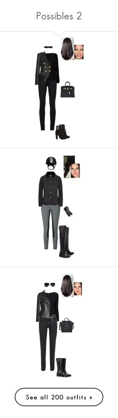 """""""Possibles 2"""" by gracebeckett ❤ liked on Polyvore featuring Marc by Marc Jacobs, Patrizia Pepe, Balmain, Hermès, Giuseppe Zanotti, 8 Other Reasons, Gucci, Carvela Kurt Geiger, Barbour and Giorgio Armani"""