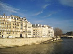 The aristocratic Ile Saint Louis, a perfect illustration of preserved century Classical architecture and one of two islands in the historic Paris Ile Saint Louis, St Louis, Paris Canal, Pont Paris, Tourist Spots, France Travel, 17th Century, Trip Planning, Island