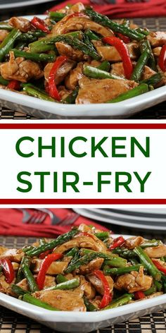 Our Chicken Stir-Fry makes the perfect weeknight dinner because it cooks up in 15 minutes, plus it's low-carb!