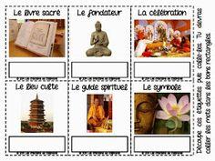 Un blogue québécois inspirant pour des enseignants passionnés qui ont à coeur la réussite de leurs élèves du préscolaire et du primaire Creations, Baseball Cards, Kids Learning, Buddhism, Kids Study