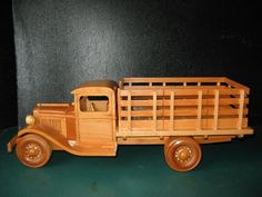 Wooden stake truck