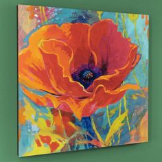 Simon Bull 'Awakening on a Summer's Breeze' Limited Edition Canvas Art Watercolor Flowers, Watercolor Art, Poppies Painting, Flower Paintings, Poppy Flower Painting, Paintings I Love, Fine Art, Red Poppies, Poppies Art