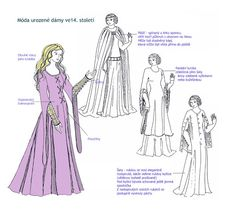 Vaclav IV. - Education Project Tudor Dress, Medieval Dress, Middle Ages, Czech Republic, Education, Medieval Gown, Medieval Clothing, Onderwijs, Learning