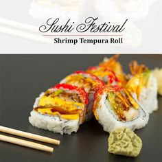 Get the inside of En to enjoy traditional which is meant to change your taste. To maintain the ancestors' taste of Shrimp Tempura Roll, Easy Diner, Rooftop Dining, Sushi Restaurants, Sushi Recipes, Sushi Rolls, Delhi Ncr, Japanese Food, Like4like