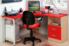 Mobiliário de escritório de várias cores