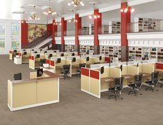 Think can only help in your office projects? Think again! Our versatile products like this design can help. Take a close look at those bookcases, those are too. Office Furniture Warehouse, Flexible Furniture, Cubicles, Panel Systems, Prefixes, Workspaces, Bookcases, Your Space, Projects