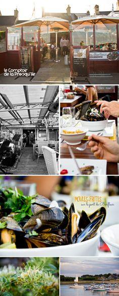 Le Comptoir de la Presqu'île - pour les moules frites de Barfleur