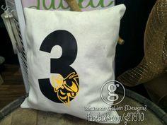 Team & # Pillow