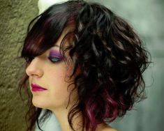 Bob Hairstyle for Wavy Hair . 9 Best Bob Hairstyle for Wavy Hair . Bob Haircut Curly, Curly Hair With Bangs, Short Curly Hair, Wavy Hair, Short Hair Cuts, New Hair, Curly Hair Styles, Frizzy Hair, Thick Hair