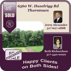 It takes a Team to get Results! Jerry & Beth worked together and the result: Very Happy Sellers and Buyers on this property. Choose your team wisely and give us a call!