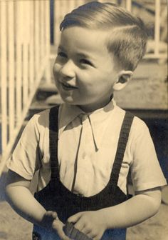 Martin Zelenka, son of Trudy and Franta Zelenka.  Martin and his parents perished in Auschwitz in October 1944.