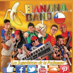 "Banana band Chile Karaoke ""El lechero"""
