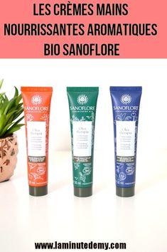 Les crèmes mains nourrissantes aromatiques bio Sanoflore : mon avis ! Minute, Personal Care, Lifestyle, Blogging, France, Beauty, Beauty Recipe, Natural Beauty Tips, Organic Beauty