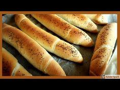 Křupavé rohlíky dobré i druhý den - YouTube Hot Dog Buns, Hot Dogs, Bread Rolls, Christmas Cookies, Food And Drink, Pizza, Youtube, Recipes, Halloween