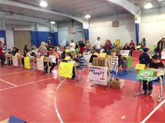4th grade Free Enterprise Day.