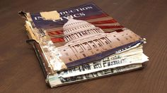 MONTGOMERY, AL—The Alabama Department of Education reported Wednesday that its sole textbook has begun to seriously show its age after more than a decade of heavy daily use at the state's 1,500 public schools. Officials said the decrepit tome,...