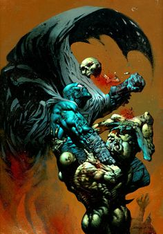 Cool Comic Book Pages: Simon Bisley - Grendel : War Child