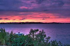 https://flic.kr/p/a4EFsf | Sunset in Bermuda [HDR] | Looking North Across the Harrington Sound, in Smiths, Bermuda. July 17th, 2011.