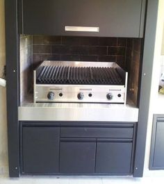 Wall Oven, Kitchen Appliances, Patio, Home, Bbq Grill, Drawers, Cow, Minimalist Chic, Diy Kitchen Appliances