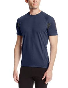 Helly Hansen Mens Pace 2 Short Sleeve Shirt Tech Navy XLarge *** You can find more details by visiting the image link.
